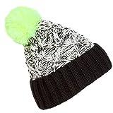 XRDSS Winter Women Fashion Wool Ball Knit Crochet Hedging Cap Beanie Hat