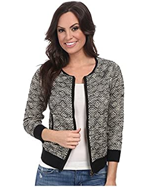 Women's Bomber Sweater Jacket