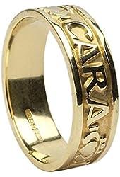 Men's Mo Anam Cara (My Soul Mate) 14K Gold Ring