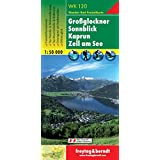 Freytag Berndt Wanderkarten, WK 120, Großglockner - Sonnblick - Kaprun - Zell am See - Maßstab 1:50.000 (freytag & berndt Wander-Rad-Freizeitkarten)