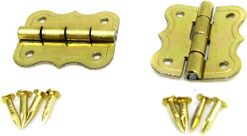 heavy duty steel small decorative indooroutdoor firewood.htm 2pc small butterfly style brass plated box hinges cabinet and  2pc small butterfly style brass plated