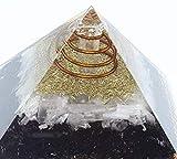 Orgone Pyramid Emf Protection Selenite Black