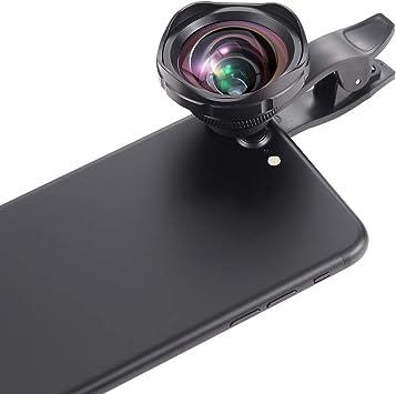 ARORY Lente de cámara para Smartphone, 2 en 1 Clip Profesional 0,6 ...