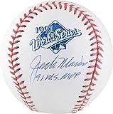 Jack Morris Minnesota Twins Autographed 1991 World Series Logo Baseball with 91 WS MVP Inscription - Fanatics Authentic Certified