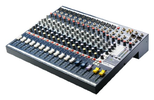 Recording 8 Bus Console (Soundcraft EFX12 High-Performance 12-Channel Audio Mixer with Effects)