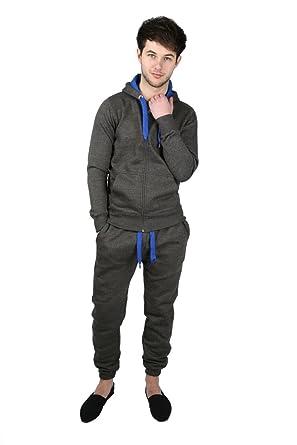 Chándal para Hombre de Deporte Jogging pantalón de Forro Polar New ...