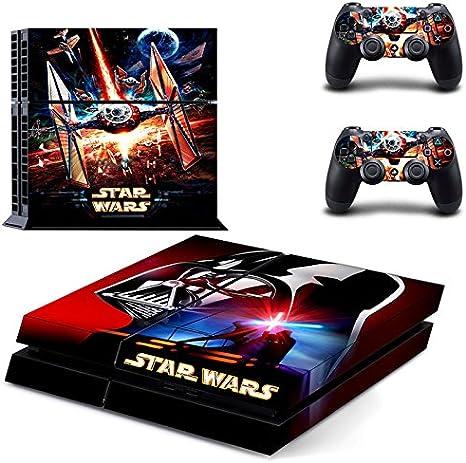 Playstation 4 + conjunto pegatina de protección – Star Wars (1) /PS4: Amazon.es: Videojuegos