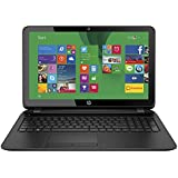 HP 15-f215dx 15.6-inch Laptop PC - AMD Quad-core A8 / 4GB Memory / 750GB HD / DVD±RW/CD-RW / HD Webcam / Windows 8.1 64-bit (Black)