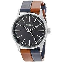 Nixon Men's A3771957 Sentry 38 Leather Watch