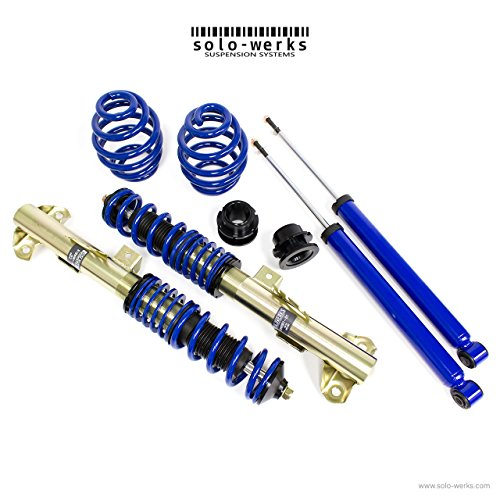- Solo Werks S1BW001 - S1 Coilover Suspension System - BMW 3 Series E36 '92-'98 Coupe, Sedan, Convertible