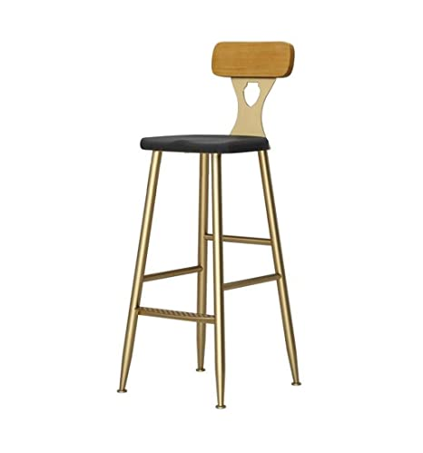 Pleasing Amazon Com European And American Fashion Bar Stool Metal Customarchery Wood Chair Design Ideas Customarcherynet