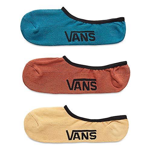 Vans_Apparel Classic Super No Show (6.5-9), Calcetines para Hombre, Multicolor