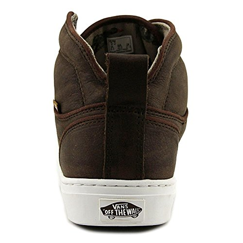 Vans Mens ALOMAR High Tops Lace Up Fabric Skateboarding Shoes (Duck Hunt)brown/White lRgStXuAC