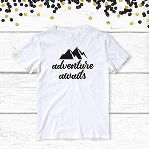 amazon com  1 pc adventure awaits 100  cotton black short