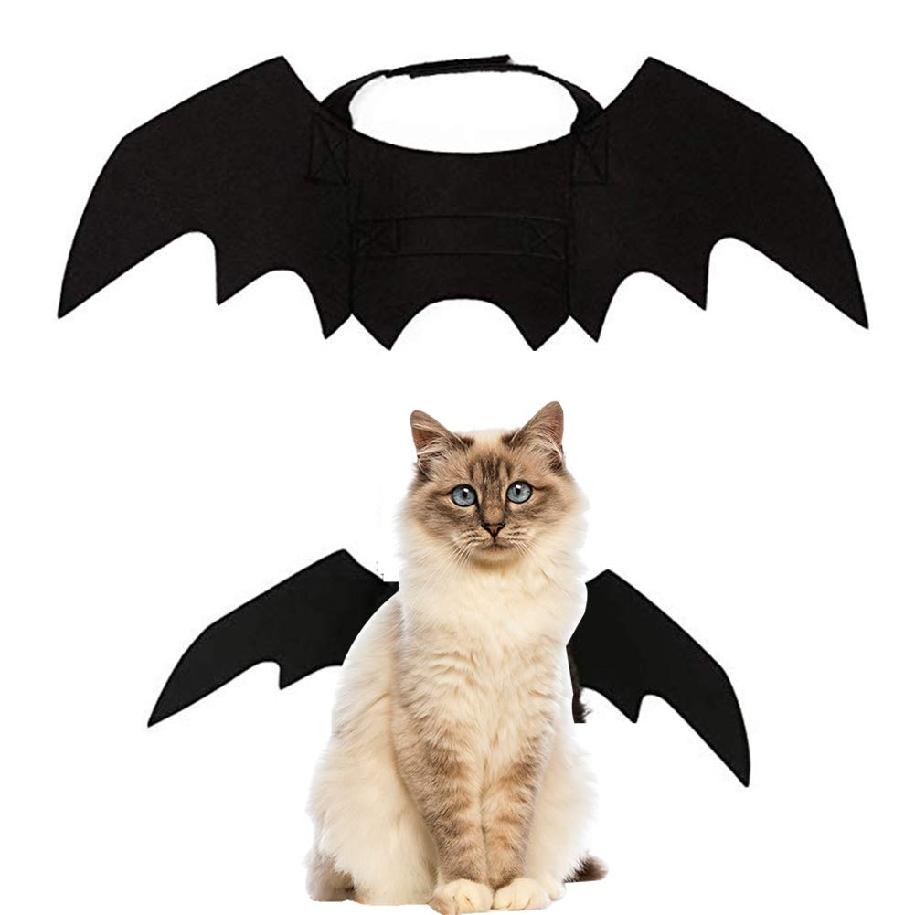 Small Halloween Pet Bat Wings for Halloween Costume Party Cosplay