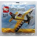 LEGO-Creator-Giallo-Aereo-Set-7808-Insaccato
