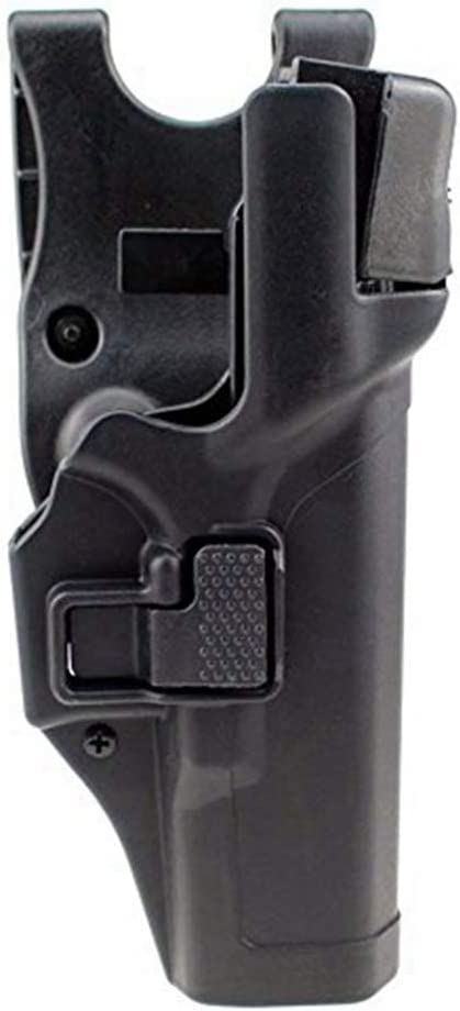 Gexgune Tactical Holster Encubrimiento Militar Nivel 3 Bloqueo Mano Derecha Cinturón Pistola Pistola Pistola (4 Modelos 2 Colores Opcionales)