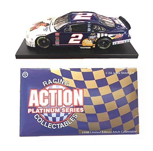 Action 1/24 Scale Rusty Wallace NASCAR 1998 Ford Taurus - Miller Lite/Elvis Race - Race Rusty Wallace