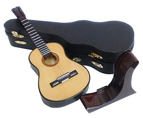 Ciaf 2503-1162-Guitarra española Decorativa Miniatura en ...