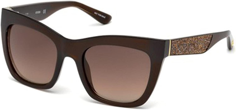 Guess Gu7509-5345f Monturas de gafas, Chiaro Luc\\Marrone Grad, 53.0 Unisex Adulto
