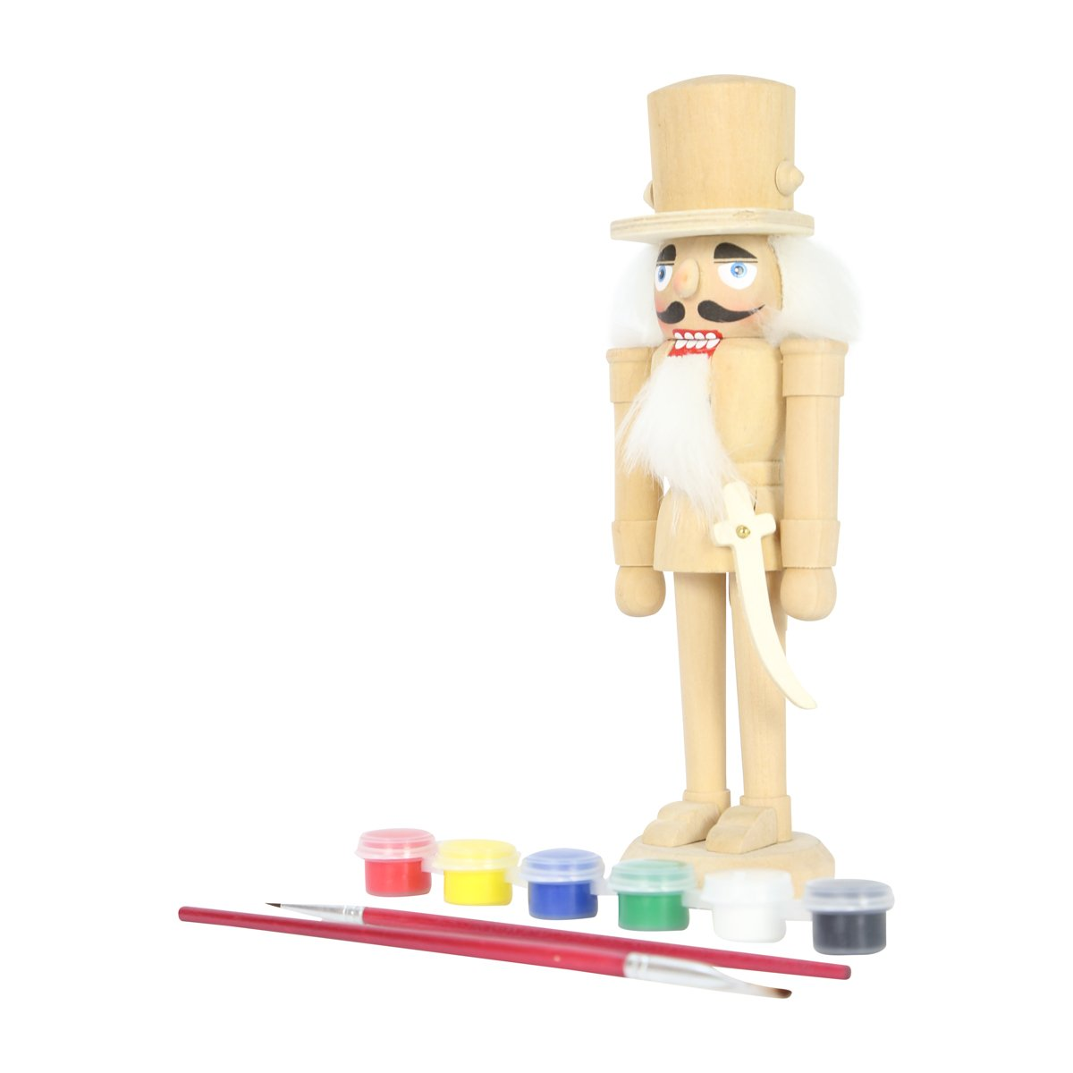 DIY Design Your Own Nutcracker with Paint and Brush UK Christmas World