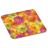 Wholesale CASE of 25 - 3M Daisy Design Mouse Pad-Foam Mouse Pad, Nonskid, 9''x8''x1/8'', Daisy