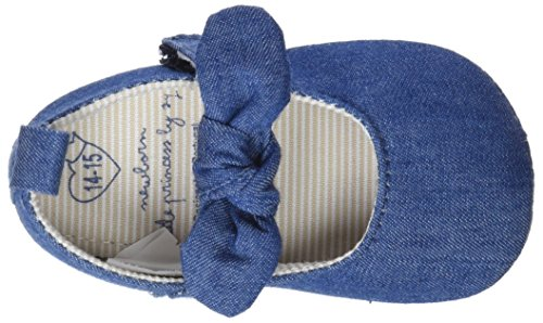 medium Blue Ballerine Bailarinas Blu Zippy Bimba walker Pre Denim 0 xq7nnwRY