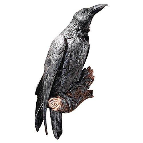 Design Toscano The Raven's Perch Wall Sculpture