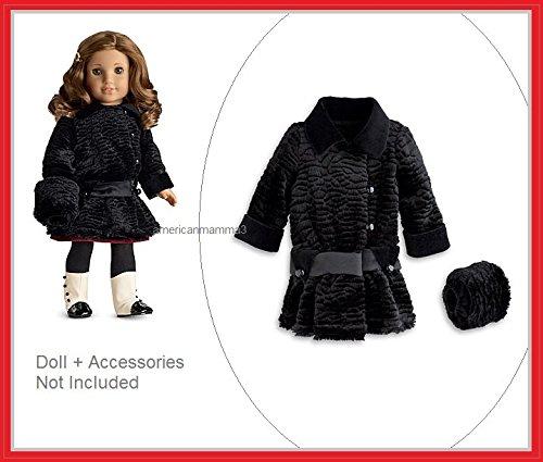 American Girl Rebecca's Winter Coat ~DOLL, HAT, LEGGINGS AND