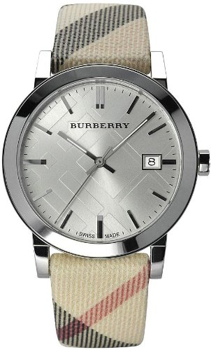 Burberry Check Fabric Ladies Watch BU9022