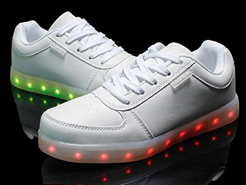 Sneakers Da Donna E Da Uomo Littlepanda Led Sneakers Sneakers Fashion Bianche
