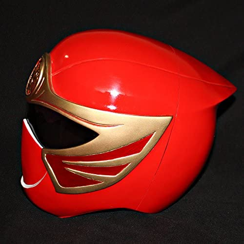 Amazon.com: Halloween Costume Power Ranger Helmet Mask Red ...