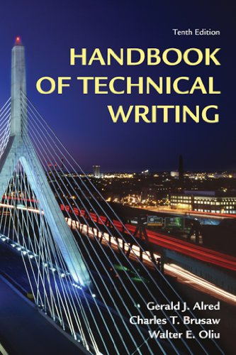 Handbook of Technical Writing Pdf