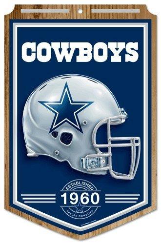 NFL Dallas Cowboys 68740011 Wood Sign, 11