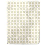 Traditional Quatrefoil Fitted Sheet: King Luxury Microfiber, Soft, Breathable