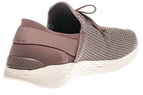 Skechers U Verheffen Sneakers In Meer Dan Maten Roze 14965 / Mve Grote Dames Schoenen Mve
