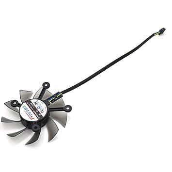 FD8015U12S 75mm Ventilador de Tarjeta Gráfica Ventilador de ...