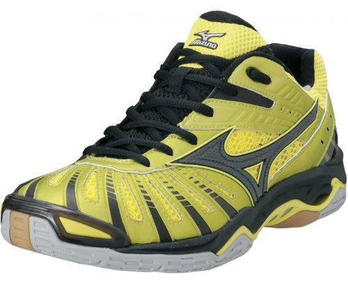 MIZUNO Wave Stealth 2 Zapatilla de Balonmano Caballero, Amarillo/Negro, 46: Amazon.es: Zapatos y complementos