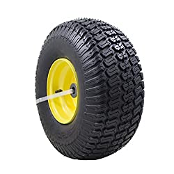 """15x6.00-6"""" Front Tire Assembly Replacement fo"""
