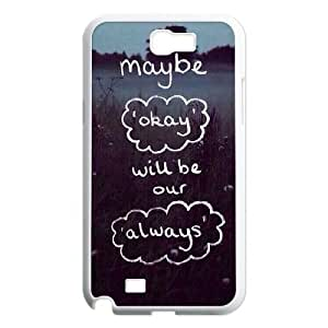 Custom Colorful Case for Samsung Galaxy Note 2 N7100, Okay Cover Case - HL-709211