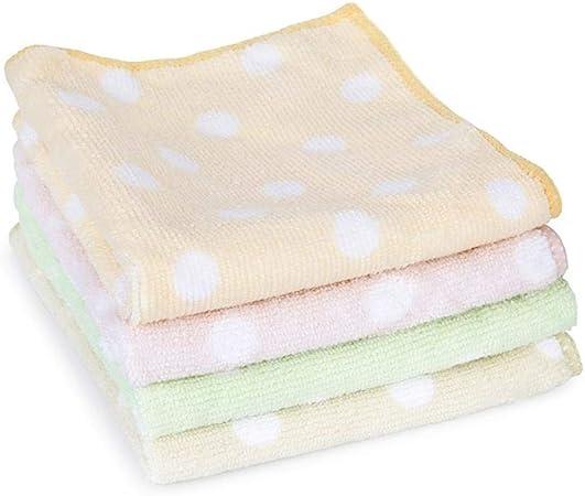 Ykun Paño de algodón, paño de Cocina, paño de Cocina, paño de Limpieza-Punto 30 * 30 cm 4 Piezas: Amazon.es: Hogar