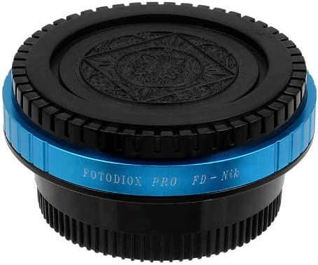 35mm for Mamiya ZE Lens to Nikon Camera for Nikon Cameras Fotodiox Pro Lens Mount Adapter