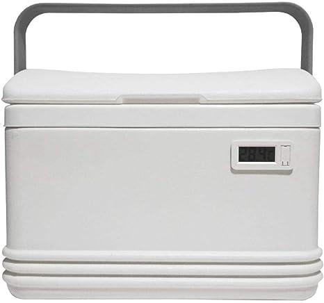 N/N Nevera portátil Mini nevera Box nevera con termómetro ...