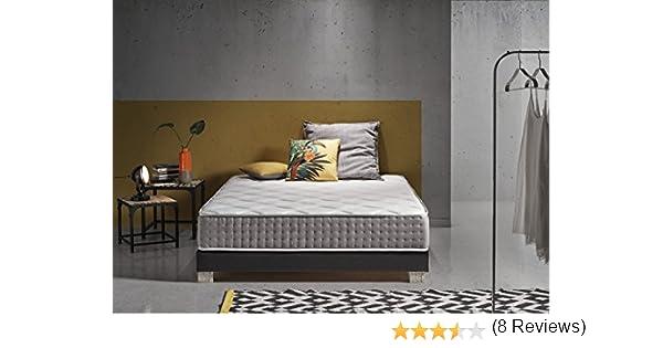 Living Sofa COLCHÓN con Sistema DE AUTOENFRIAMIENTO DE PARTÍCULAS DE GRAFENO Carbono DE ÚLTIMA GENERACIÓN 135 x 190 (Todas Las Medidas): Amazon.es: Hogar