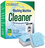 Washing Machine Cleaner, Washing Machine Effervescent Tablets, Solid Washer Tablet, for Front Load and Top Load Washers,...