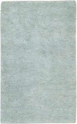 6'' x 6'' Sample Surya Accent Rug AROS11-6SAM Glacier Mist Color Handmade in India ''Aros Collection'' by Surya