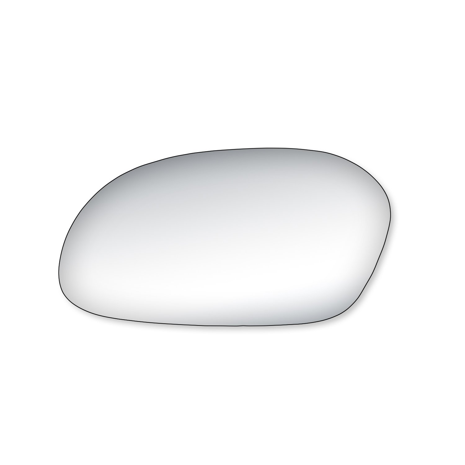 Fit System 99042 Ford//Mercury Driver//Passenger Side Replacement Mirror Glass