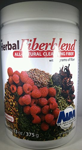AIM Herbal Fiberblend Raspberry Powder 13 oz. (Infinite Raspberry)