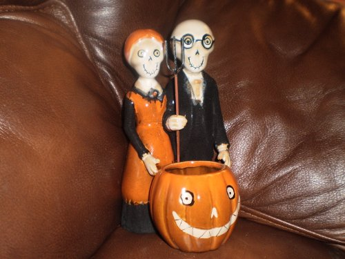 Yankee Candle Boney Bunch Gothic Farmer Couple Votive