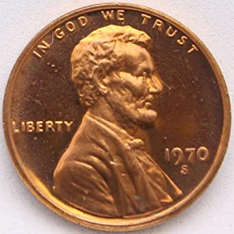 1970-S PROOF CENT